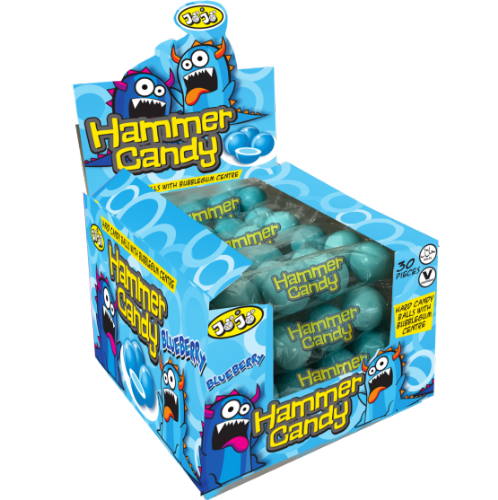 Blueberry Hammer Candy